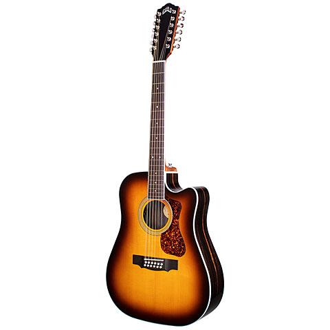Guitare acoustique Guild D-2612CE Deluxe ATB