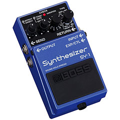 Boss SY-1 Guitar-Synthesizer « Pedal guitarra eléctrica