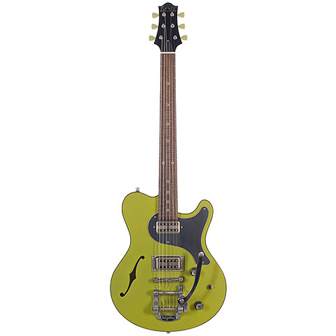 Nik Huber Surfmeister Bigsby, Candy Apple Green « Guitare électrique