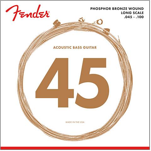 Cuerdas bajo acústico Fender 8060 045-100