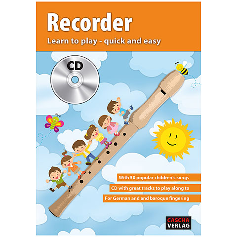Lehrbuch Cascha Recorder - Learn to play quick and easy