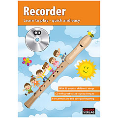 Cascha Recorder - Learn to play quick and easy « Lehrbuch