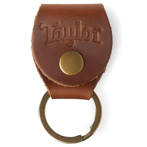 Soporte para púas Taylor Key Ring with Pickholder Brown