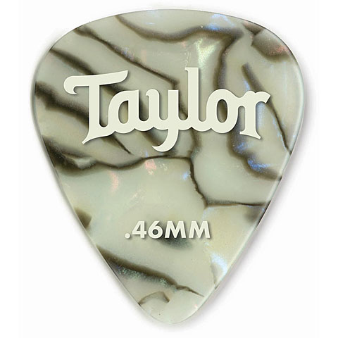 Plektrum Taylor Celluloid 351 Abalone .46mm (12 Stk)