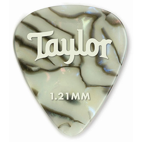 Plektrum Taylor Celluloid 351 Abalone 1.21mm (12 Stk)