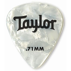 Taylor Celluloid 351 White Pearl .71mm (12 Stk) « Médiators
