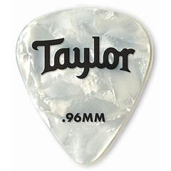 Taylor Celluloid 351 White Pearl .96mm (12 Stk) « Médiators