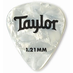 Taylor Celluloid 351 White Pearl 1.21mm (12 Stk) « Plektrum
