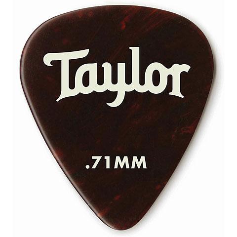Plektrum Taylor Celluloid 351 Tortoise .71mm (12Stk)