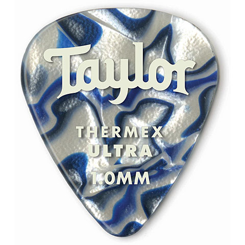 Médiators Taylor Thermex 351 Blue Swirl 1.25mm (6Stk)