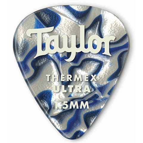 Púa Taylor Thermex 351 Blue Swirl 1.5mm (6Stk)