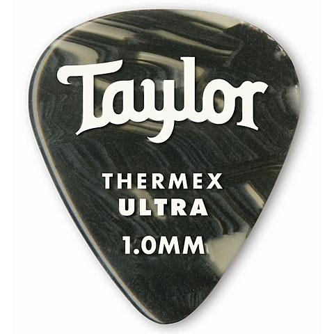 Médiators Taylor Thermex 351 Black Onyx 1.0mm (6Stk)