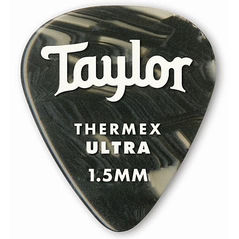 Médiators Taylor Thermex 351 Black Onyx 1.5mm (6Stk)