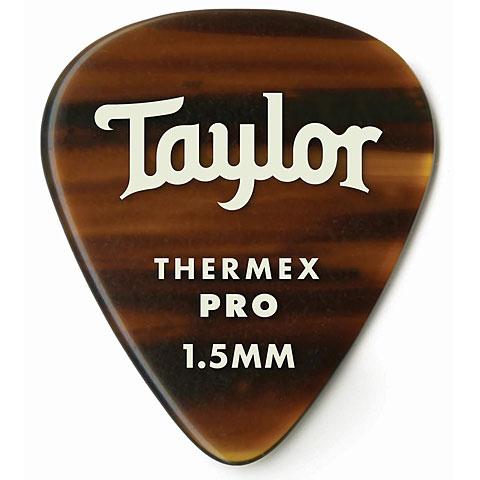 Plektrum Taylor Thermex Pro 346 TortoiseShell 1.5mm Mittel (6Stk)