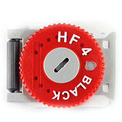 Hörluchs HF4 Filter Black Dispenser red « Cerumenfilter