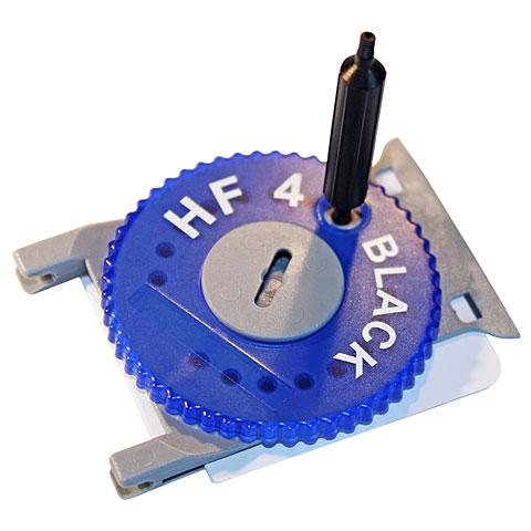 Cerumenfilter Hörluchs HF4 Filter Black Dispenser blue