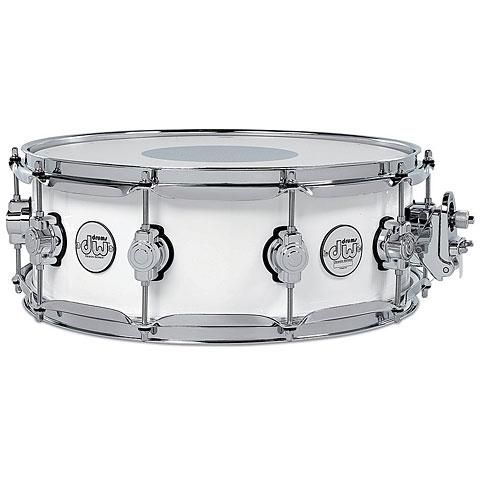 "Snare Drum DW Design 14"" x 5,5"" White Gloss"