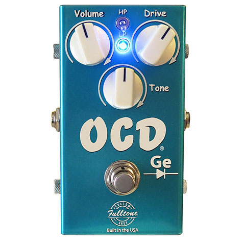 Effets pour guitare électrique Fulltone CS-OCD-Ge Custom Shop Edition