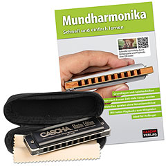 Cascha Master Edition Blues Harmonica Set « Armónica mod. Richter