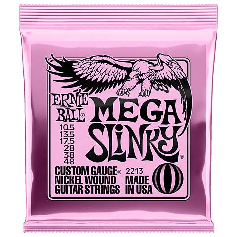 Cuerdas guitarra eléctr. Ernie Ball Mega Slinky 2213 .0105-048