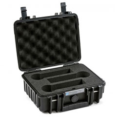 B&W International ProAudio 1000/B/3MC « Case pour transport