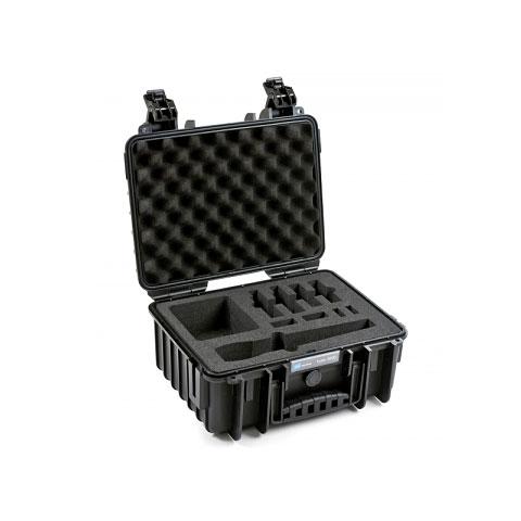 B&W ProAudio B&W Case für 2x Sennheiser AVX