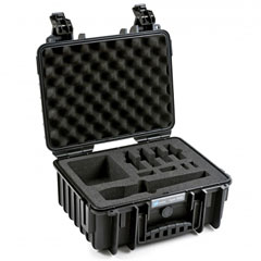 B&W International ProAudio 3000/B/SHAVX « Case de transporte