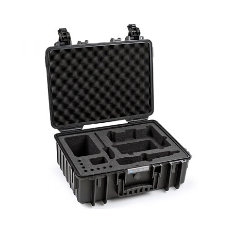 Case de transporte B&W International ProAudio 5000/B/SHEW100