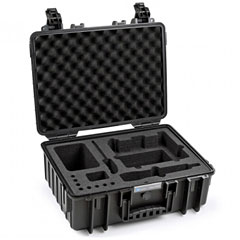B&W International ProAudio 5000/B/SHEW100 « Case de transporte