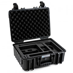 B&W International ProAudio 5000/B/SLX « Case de transporte