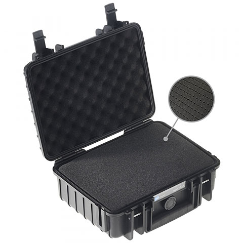 Case pour transport B&W International ProAudio 1000/B/SI/PA