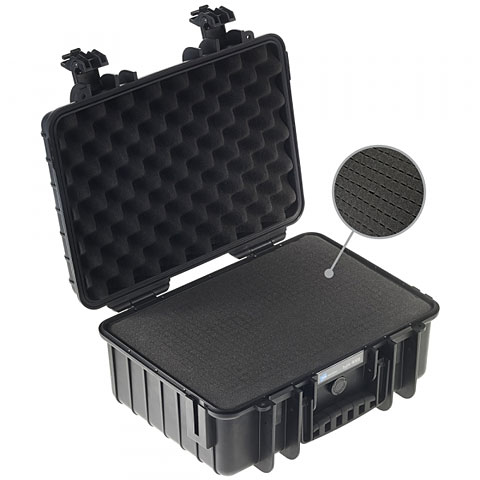 B&W ProAudio B&W ProAudio Case 4000 black