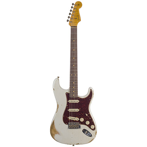 Fender CustomShop 1960 Relic Stratocaster OLY « Electric Guitar