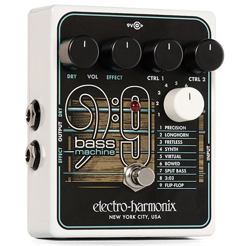 Effets pour guitare électrique Electro Harmonix Bass 9 Bass Machine