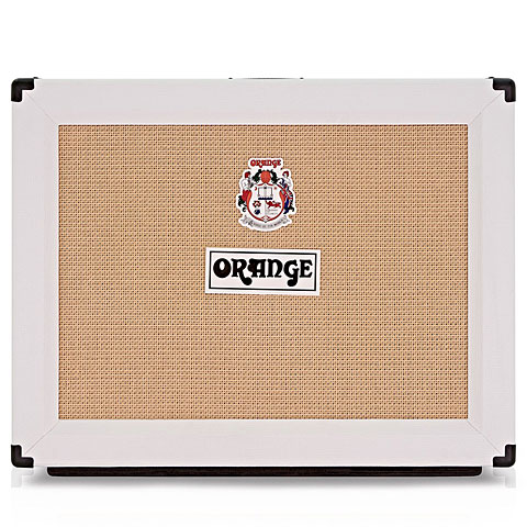 "Pantalla guitarra eléctrica Orange PPC212 Open Back, 2x12"" White limited Edition"
