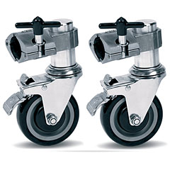 DW 9000 Series CPRKCAST Rack Casters Pair « Drum-Rack-Zubehör