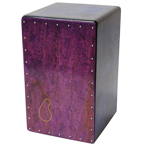 Cajon Tres Lados Classic Custom Purple Birch