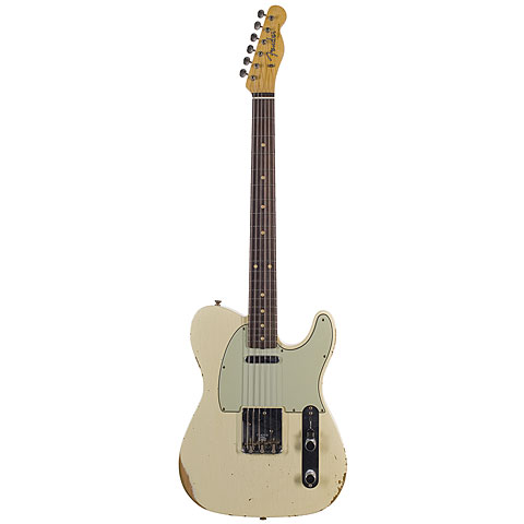 Fender Custom Shop '60 Relic Telecaster, Vintage White « Electric Guitar