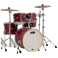 "pdp Spectrum 20"" Cherry Stain Shellset with Hardware « Schlagzeug"