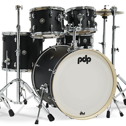 "Schlagzeug pdp Spectrum 22"" Ebony Stain Shellset"