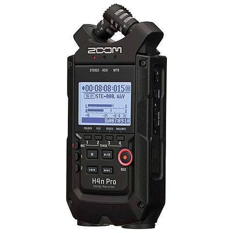 Digital Audio Recorder Zoom H4n Pro Black