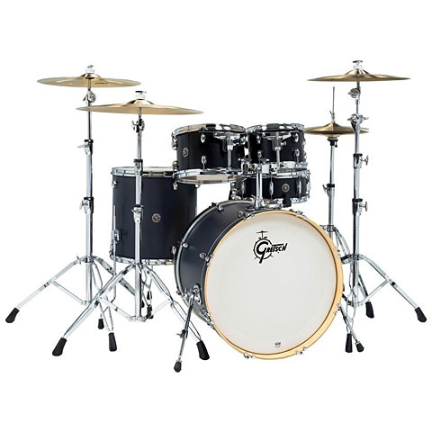 "Batterie acoustique Gretsch Drums Catalina Birch 22"" Ebony Satin"