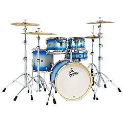 "Gretsch Drums Catalina Birch 20"" Blue Silver Duco Shellset « Set di batterie"