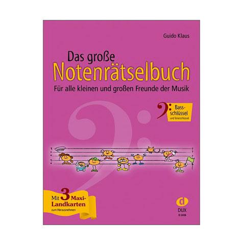 Lehrbuch Dux Das große Notenrätselbuch Bassschlüssel