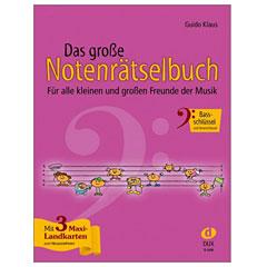 Dux Das große Notenrätselbuch Bassschlüssel « Lehrbuch