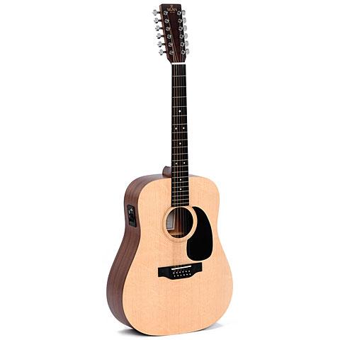 Guitarra acústica Sigma Guitars DM12E+