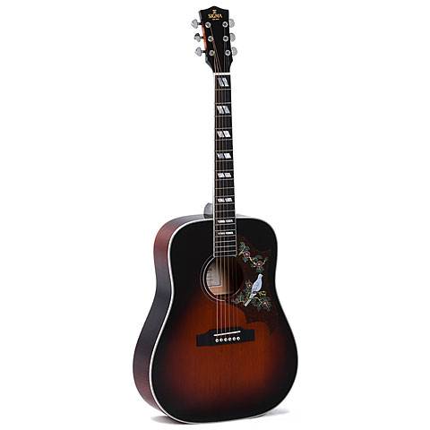 Guitarra acústica Sigma Guitars DA-SG7+
