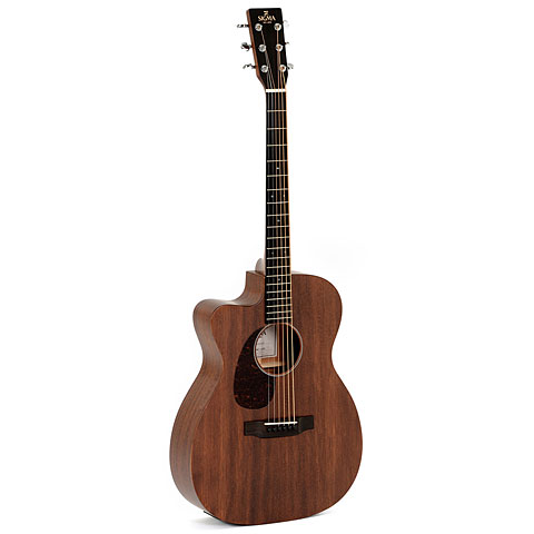 Westerngitarre Lefthand Sigma Guitars 000MC-15EL