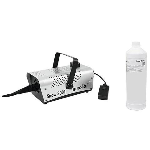 Eurolite Set Snow 3001 Snow machine + fluid 1l