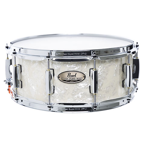 "Caisse claire Pearl Session Studio Select 14"" x 5,5"" Nicotine White Marine Pearl"